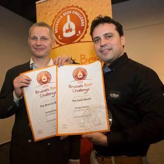 Cervezas Arriaca se trae dos medallas del certamen internacional 'Brussels Beer Challenge 2016'