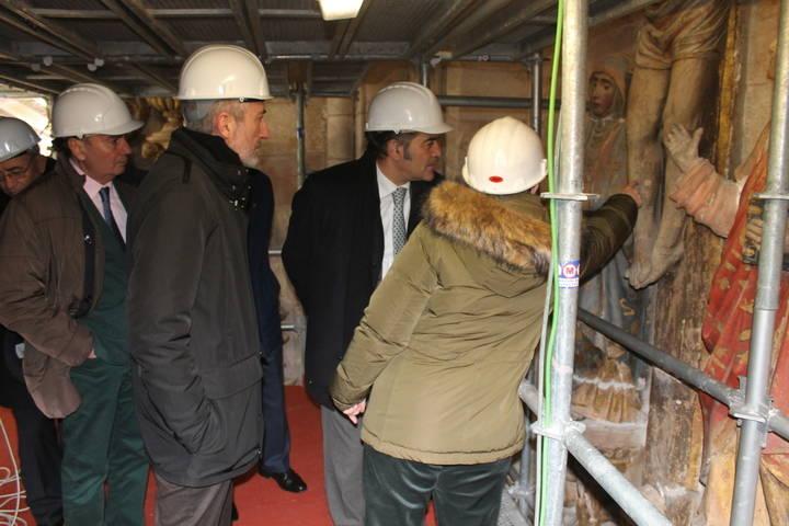 Comienzan las obras de conservación y restauración en la catedral de Sigüenza