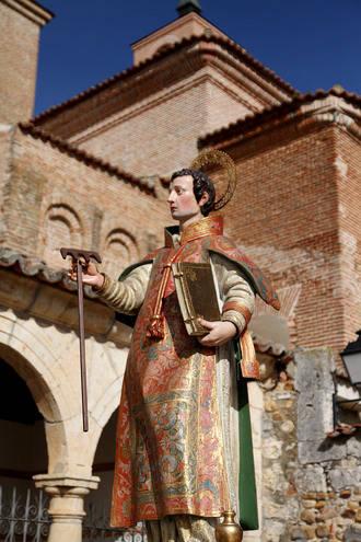 Entrañable día de San Vicente en Quer