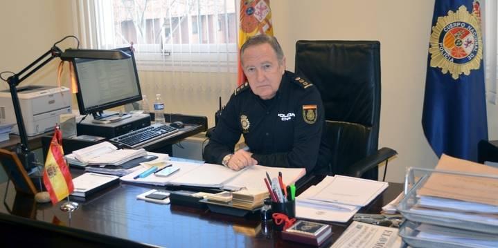 Francisco Trallero se despide como Jefe de la Policía Nacional en Guadalajara