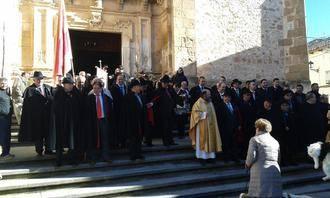 San Antón da el relevo a San Sebastián mientras las celebraciones de invierno toman las calles jadraqueñas