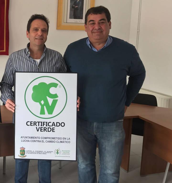 El Ayuntamiento de Galápagos se compromete en la lucha contra el cambio climático