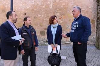 Ciudadanos Guadalajara visita Sacedón para conocer de primera mano la situación de Entrepeñas