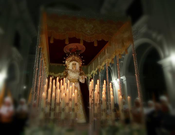 El Lunes Santo llena Guadalajara de devoción con la procesión de María Santísima de la Misericordia
