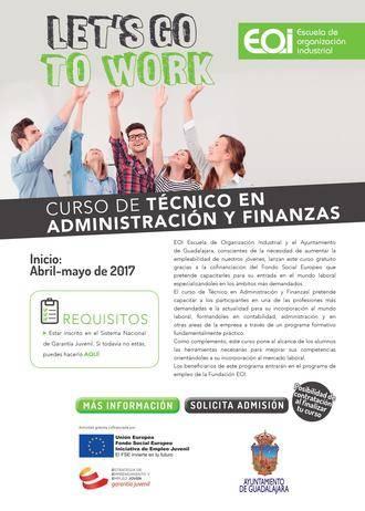 Ayuntamiento de Guadalajara y EOI ponen en marcha el Curso de Técnico en Administración y Finanzas