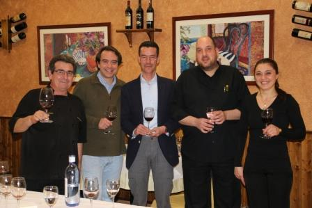 Nueva Cata de Vinos en el restaurante El Fogón del Vallejo