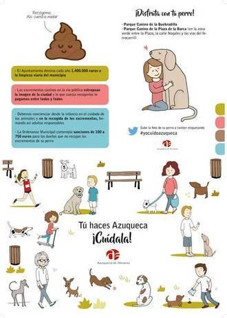 Azuqueca también se pone seria con la recogida de excrementos caninos