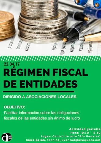 El Centro de Ocio azudense acoge una sesión informativa sobre el régimen fiscal de entidades