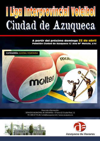 Este domingo arranca la Liga Interprovincial de Voleibol 'Ciudad de Azuqueca'