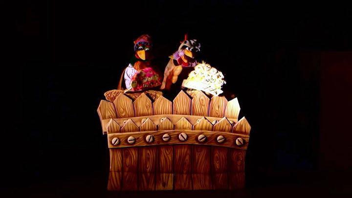Teatro de títeres en el Teatro Moderno con 'En un lugar de la granja'