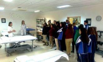 Los alumnos de los Agustinianos visitan el Instituto de Enfermedades Neurológicas de Castilla-La Mancha