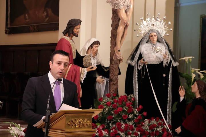 Antonio Herraiz pregona la Semana Santa de Guadalajara: