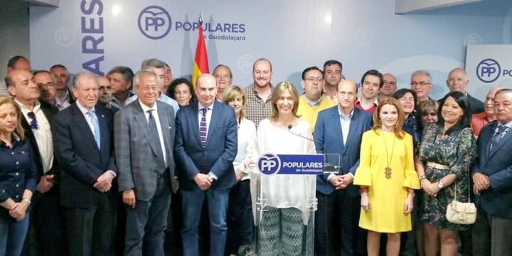 Ana Guarinos anuncia que se presentará a la reelección el próximo 21 de mayo como presidenta del Partido Popular de Guadalajara