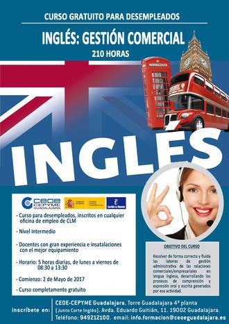 CEOE-Cepyme Guadalajara centra su nuevo curso formativo en el inglés comercial
