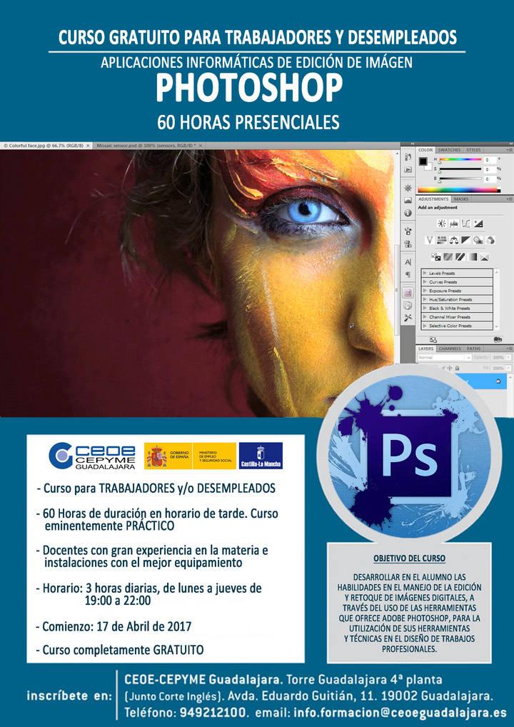 Abierto el plazo de inscripción para los cursos de Photoshop y soldador al arco eléctrico en CEOE