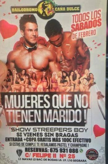 Se ha liado gorda: copa gratis y 100 euros por ir sin bragas a la discoteca