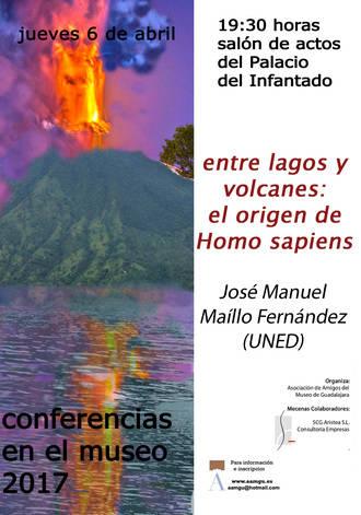 """""""Entre lagos y volcanes: el origen del Homo Sapiens"""", conferencia en el Museo provincial"""