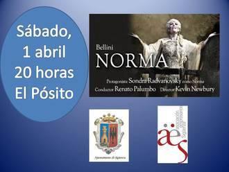 Este sábado, la iniciativa 'Vive la Opera en Sigüenza' proyecta 'Norma' de Bellini