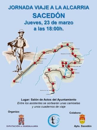 La Diputación organiza una nueva jornada sobre el viaje a La Alcarria en Sacedón