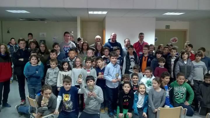 Celebrada en Torija la séptima jornada del XII Circuito de Ajedrez