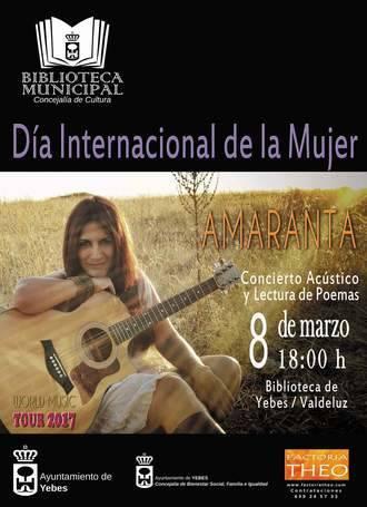 Un recital poético-musical con protagonismo femenino conmemora el Día Internacional de la Mujer en Yebes