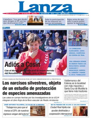 Las cosas pintan feas para el diario Lanza, dependiente de la Diputacion de Ciudad Real