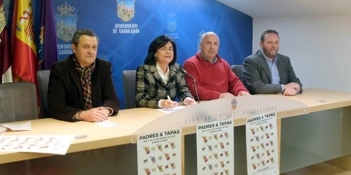 El comercio de Guadalajara vuelven a invitar a los hijos a llevarse a sus padres de tapas