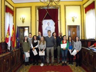 El alcalde de Guadalajara entrega los premios del Certamen Creajoven 2016