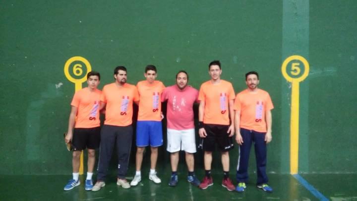 El frontenis de Guadalajara afronta la recta final de la temporada