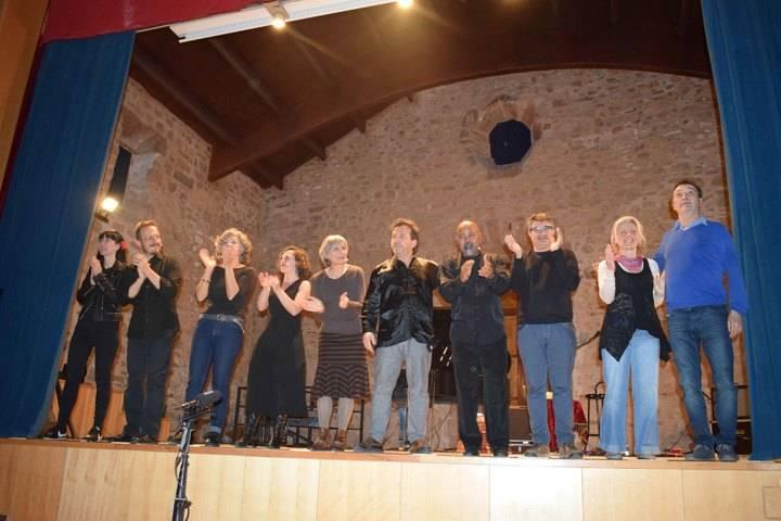 'La Poesía anda por las calles' de Sigüenza ante de llegar a Guadalajara