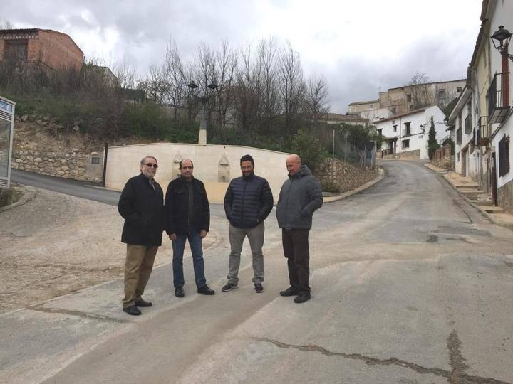 Más de 200.000 euros de Diputación para renovar redes y pavimentar calles en Armuña, Loranca, Alique y Pioz