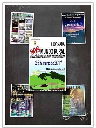 """La Diputación de Guadalajara colabora con la I Jornada """"SOS Mundo Rural"""" de este sábado en Orea"""