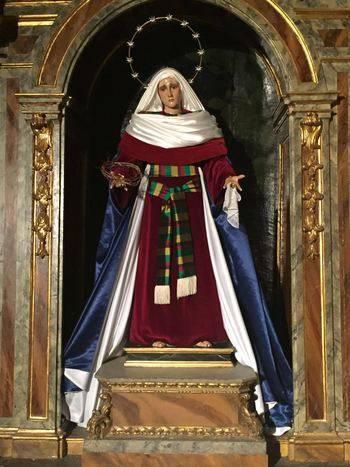 La Cofradía de la Virgen de los Dolores se prepara para vivir la Cuaresma