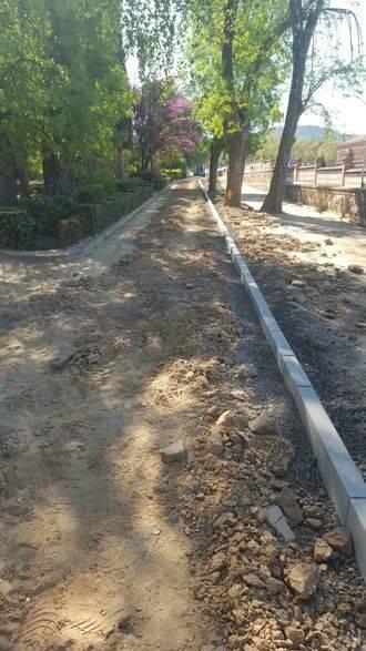 La restauración del parque Fuente de la Niña avanza a buen ritmo