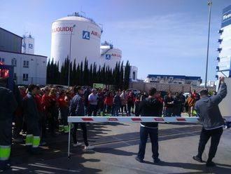 Los trabajadores de Logista Libros, en Cabanillas, desconvocan la huelga prevista para este miércoles