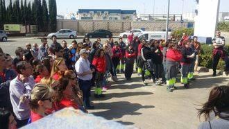 Los trabajadores de Logista Libros, en Cabanillas, inician la huelga