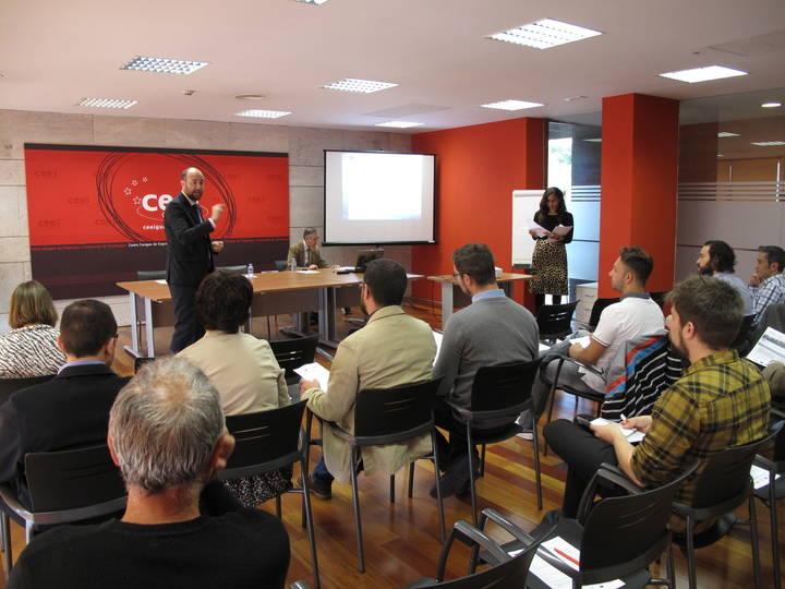 Emprendedores y empresarios de Guadalajara se informan de las líneas de financiación de CDTI