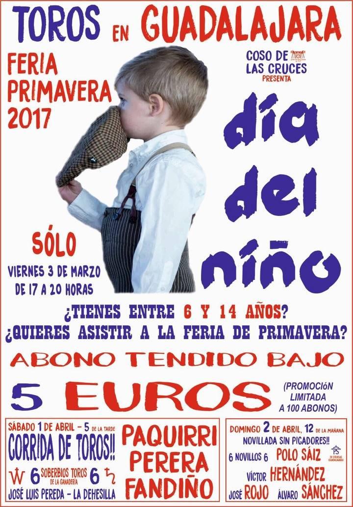 Abono de Primavera para niños por 5 euros en el Coso de las Cruces
