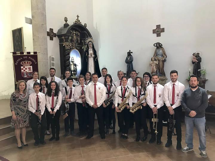La Asociación Musical Nuestra Señora de la Soledad de Fuentenovilla ha cumplido una década