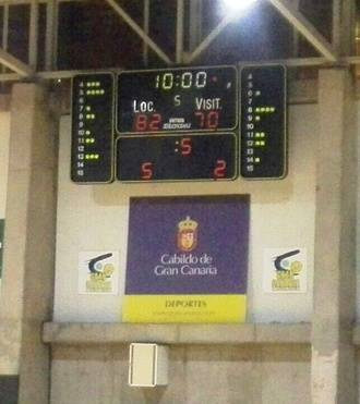 Tropiezo importante de Isover Basket Azuqueca en Gran Canaria