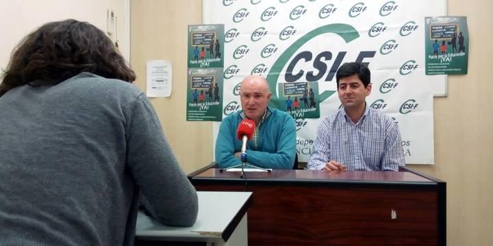"""CSIF denuncia """"falta de diálogo"""" de la Dirección Provincial de Educación de Guadalajara con los sindicatos"""