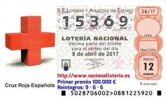 Cae en Albacete el primer premio de la Lotería Nacional, dotado con un millón de euros