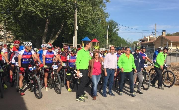 Más de 350 participantes en la X Ruta de las Aliagas de Peñalver, tercera prueba del Circuito MTB Diputación