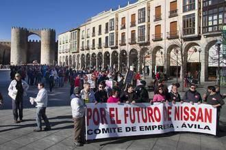 Defienden con uñas y dientes la continuidad de la fábrica de Nissan en Ávila