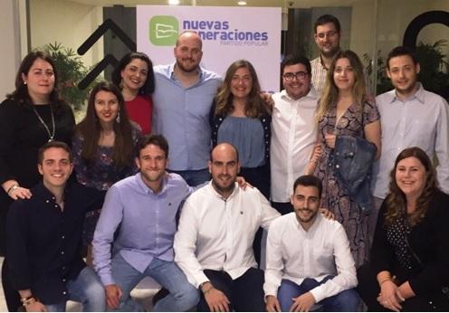 NNGG de Guadalajara asisten el Congreso Nacional y formarán parte de la nueva directiva presidida por Gago