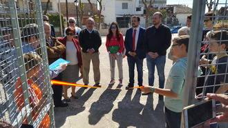 La Diputación colabora con más de 8.000 euros para la construcción de una pista de pádel en Alcocer