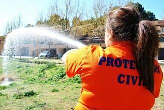 La Agrupación de Voluntarios de Protección Civil Quer continúa su labor en el municipio y colabora con otras formaciones