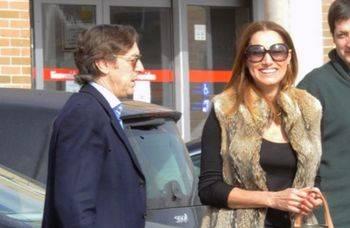 Rafael Hernando y Silvia Perucho Prieto, en una imagen exclusiva de LOC