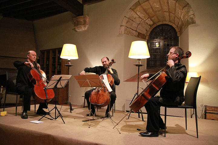 La temporada de clásica de Sigüenza continúa con un brillante concierto de Cellos on BOard