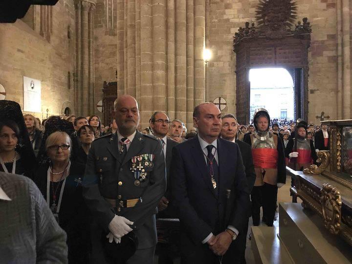 237 años después, Sigüenza recupera la ceremonia del Descendimiento